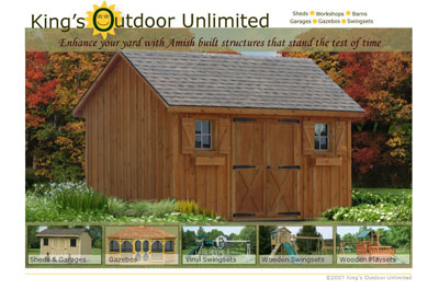 King's Outdoor Unlimited Home Page
